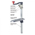 H/Duty Can Opener With Clamp Base